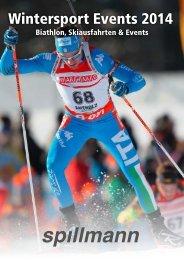 Wintersport Events 2014 - Spillmann