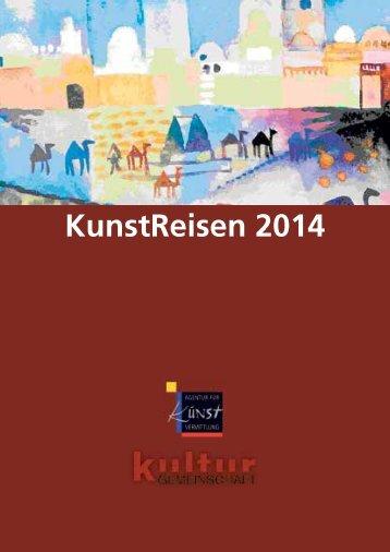 KunstReisen 2014 - Spillmann