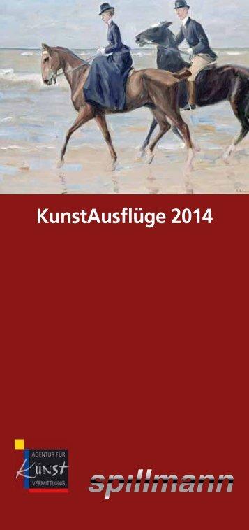 KunstAusflüge 2014 - Spillmann
