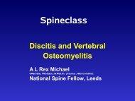 Discitis And Vertebral Osteomyelitis