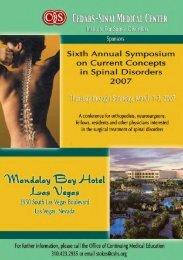 2011 08 06 Brochure 2007.pdf - Spine Society of Australia
