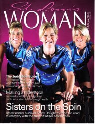 St. Louis Woman Magazine - Sisterly Love - October 2005 - Spinning