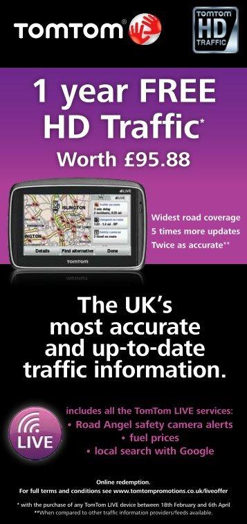 1 year FREE HD Traffic* Worth £95.88 - E-Merchant