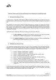 PAGE 14 L'arrêté royal du 10 décembre 1996 relatif aux différents ...