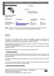 TI 020 (pdf) - Registre National