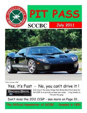 Pit Pass - July - 2011.1.pub - sccbc