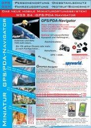 GPS/PDA-Navigator - Spionladen.info