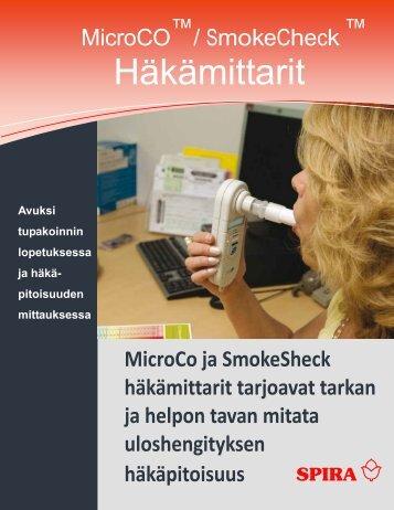 Häkämittarit-esite - Spira