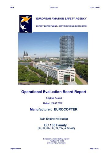 Final report EC 135 Family-23 07 12 - EASA