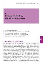 6 Kirchen, Freikirchen, christliche Bewegungen - Evangelische ...