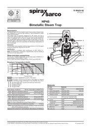 HP45 Bimetallic Steam Trap - Spirax Sarco