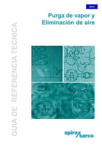 GUIA DE REFERENCIA TECNICA - Spirax Sarco