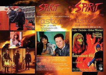 Kurfürstendamm 225, 10719 Berlin - Spirit Fanzine Berlin