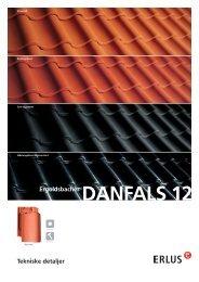 Tekniske detaljer Ergoldsbacher Danfals 12 - Erlus AG