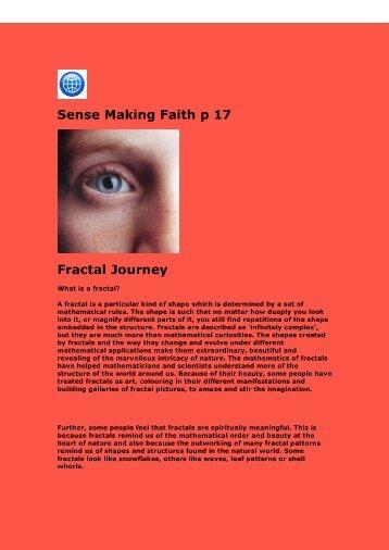 Exploring Fractals - SPIRITUALjourneys.org.uk