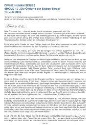 Die Öffnung der Sieben Siegel - Spiru.de