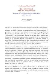 Potentialisierung - gechannelt von Geoffrey Hoppe - Spiru.de