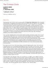 03.09.2005 Tobias: Lebewohl, Shiva - gechannelt von ... - spiru.de