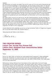 Akzeptiert euer menschliches Selbst - Spiru.de
