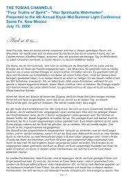Vier Spirituelle Wahrheiten - Spiru.de