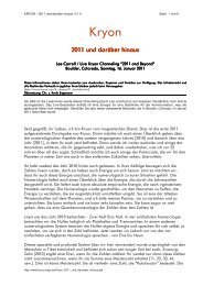 2011 und darüber hinaus - Integrale-astromedizin.at