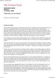 Abschied von der Macht - Spiru.de