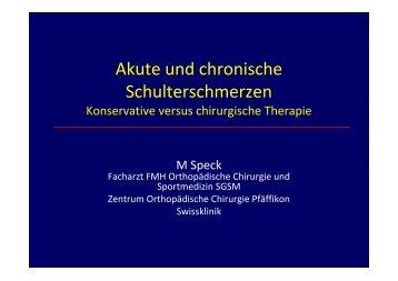 Akute und chronische Schulterschmerzen - Spital Einsiedeln