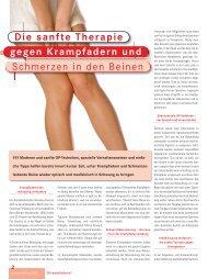 Sanfte Therapie gegen Krampfadern - Kantonsspital Nidwalden