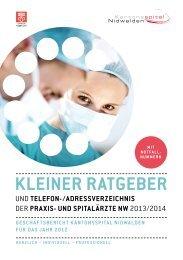 KSNW_KleinerRatgeber.. - Kantonsspital Nidwalden