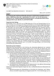 GZ. BMVIT-820.288/0006-IV/SCH2/2010 DVR:0000175 Wien, am ...