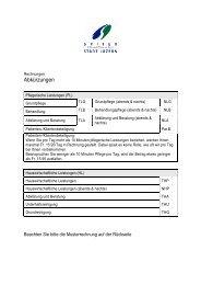 Musterrechnung mit Beschreibung und Erklärung ... - Spitex Luzern