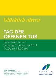 Glücklich altern - Spitex Luzern