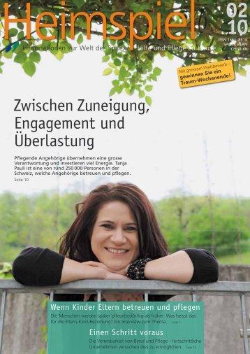 Zuneigung, Engagement und Überlastung ... - SPITEX Bern