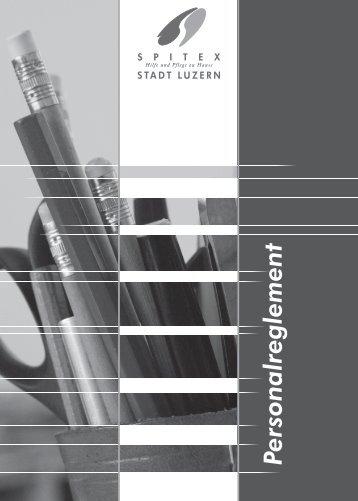Personalreglement - Spitex Luzern