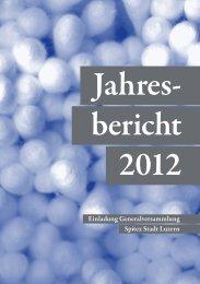 Jahresbericht 2012 - Spitex Luzern