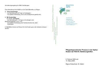Weitere Informationen… - Spitex Verband Kt. St. Gallen