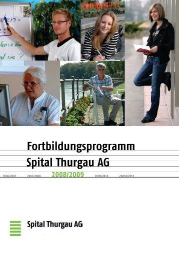 Fortbildungsprogramm Spital Thurgau AG
