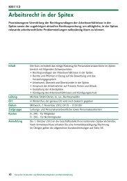 Arbeitsrecht in der Spitex - Spitex Verband Kt. St. Gallen