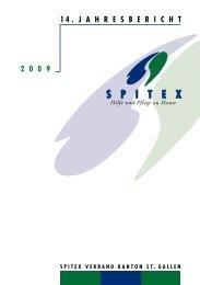 Jahresbericht 2009 - Spitex Verband Kt. St. Gallen