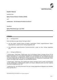 Tarifvertrag - Spitex Verband Kt. St. Gallen