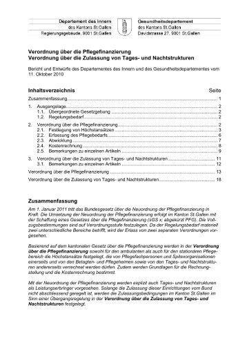 Verordnung - Spitex Verband Kt. St. Gallen