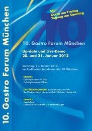 10. Gastro Forum München - ESGENA