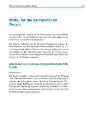 Mittel für die zahnärztliche Praxis - Spitta