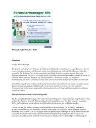 Kiefergelenk-Dysfunktion - Teil I Einleitung von Dr. Aladin ... - Spitta