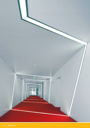 Recessed light channel Vocational Rehabilitation Centre in Goslar