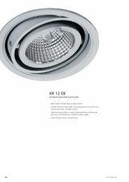 Gimbal recessed Luminaires KR 12 EB - Spittler