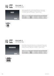LED recessed lights PULSAR 1-5 - Spittler