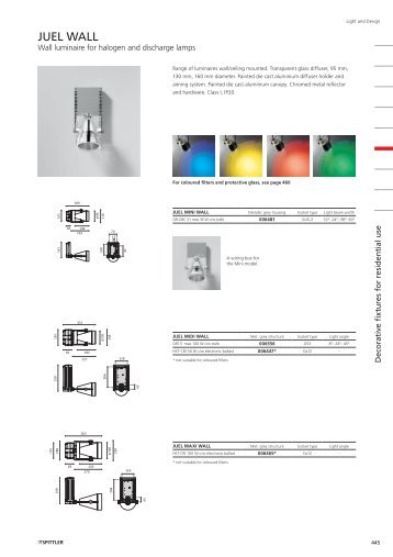 Light And Design JUEL WALL - Spittler