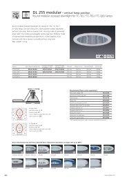 DL 255 modular – vertical lamp position Round modular ... - Spittler