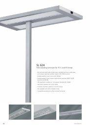 Free Standing Luminaires SL 624 - Spittler